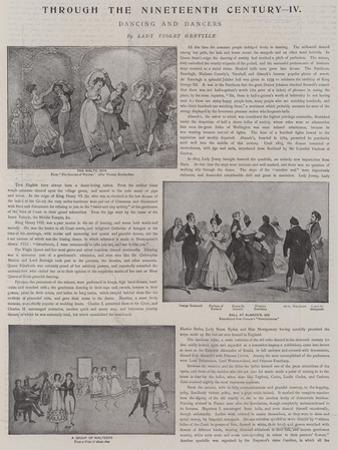 Dancing and Dancers by Thomas Rowlandson