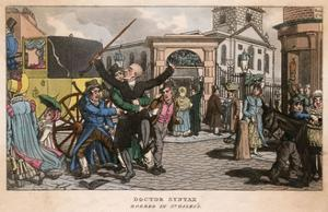 Dr Syntax Robbed in St Giles by Thomas Rowlandson