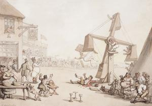 Figures at a Fair, 1803 by Thomas Rowlandson