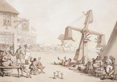 Figures at a Fair, 1803 by Thomas Rowlandson