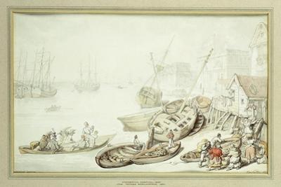 Greenwich Hospital, 1822 by Thomas Rowlandson