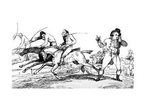 How to Escape Winning, 1791 by Thomas Rowlandson