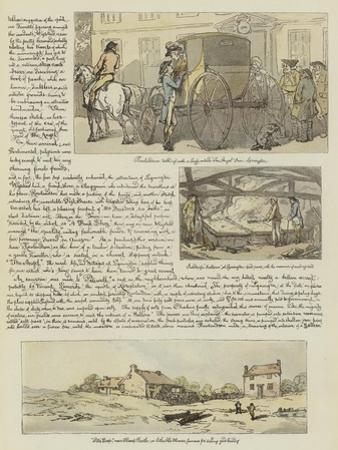 Rowlandson's Tour in a Post Chaise, 1782 by Thomas Rowlandson