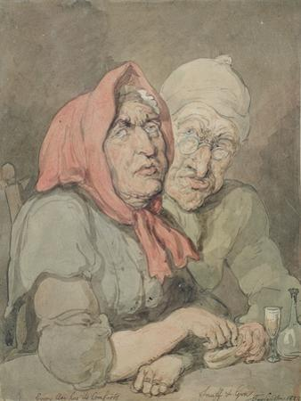 Snuff and Gin by Thomas Rowlandson