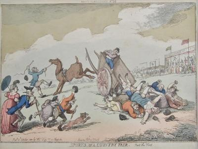 Sports of a Country Fair, 1810 by Thomas Rowlandson