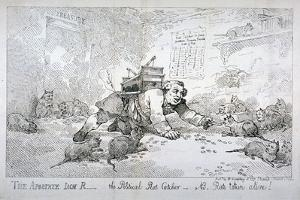 The Apostate Jack R - the Political Rat Catcher - Nb. Rats Taken Alive!, 1784 by Thomas Rowlandson