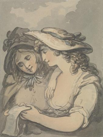 The Ballad Singers by Thomas Rowlandson
