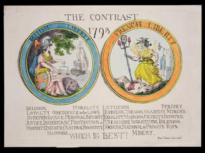 The Contrast 1793: British Liberty and French Liberty - Which Is Best? 1793
