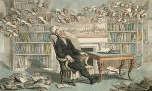 The Doctor's Dream by Thomas Rowlandson