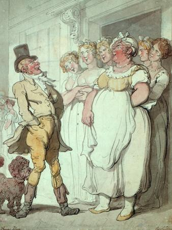 The King's Place by Thomas Rowlandson