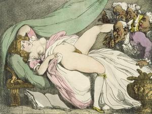 The Prostitute Observed, 1808-17 by Thomas Rowlandson