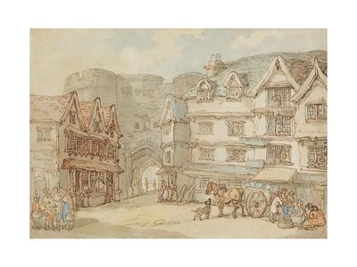 The South Gate, Exeter, C.1810