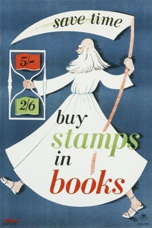 Save Time Buy Stamps in Books by Thomas