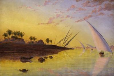 View on the Nile, 1855