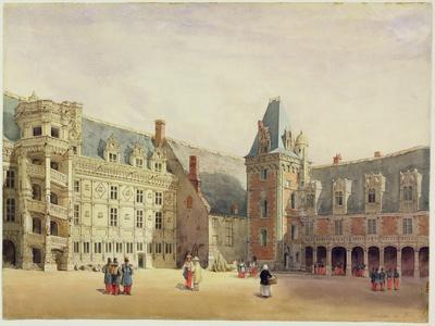 Le Chateau De Blois (W/C on Paper)