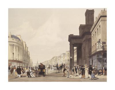 Regent Street, looking towards The Quadrant