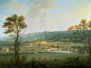 A View of Chatsworth from the South-West by Thomas Smith of Derby