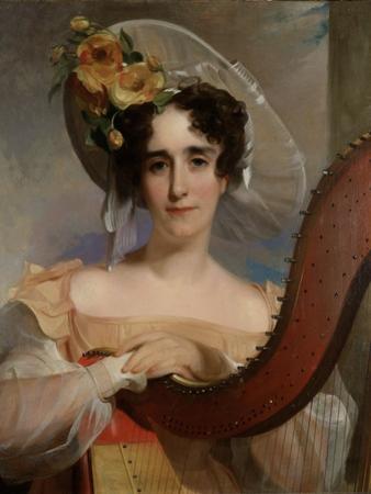 Mademoiselle Ade Sigoigne, 1829 by Thomas Sully