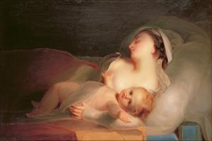 Mother and Child, 1827 by Thomas Sully