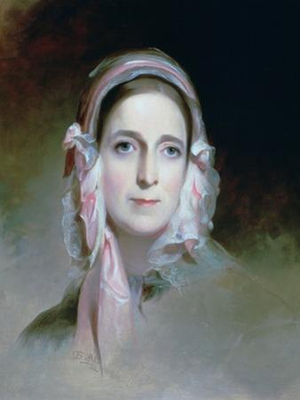 Mrs Mordecai Lewis, 1843 by Thomas Sully