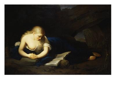 Penitent Magdalen by Thomas Sully