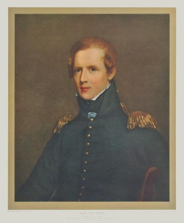 Portrait : Major John Biddle by Thomas Sully