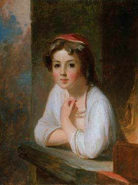 Portrait of a Peasant Girl, 1857 by Thomas Sully
