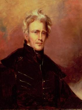 Portrait of Andrew Jackson, 1858 by Thomas Sully