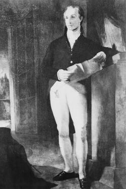 Portrait of James Monroe by Thomas Sully