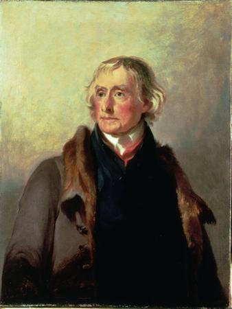 Portrait of Thomas Jefferson, 1856 by Thomas Sully