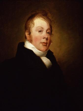 Portrait of William Warren, 1808 by Thomas Sully
