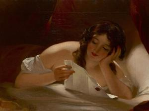 The Love Letter, 1834 by Thomas Sully