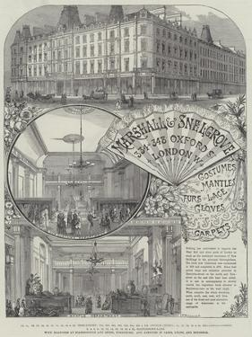 Advertisement, Marshall and Snelgrove by Thomas Sulman