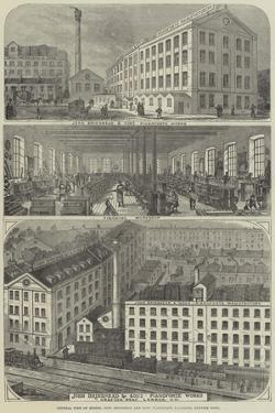 Advertisement, Messers John Brinsmead and Sons' Pianoforte Factories by Thomas Sulman