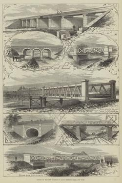 Scenes on the New Railway in Japan Between Osaka and Kobe by Thomas Sulman