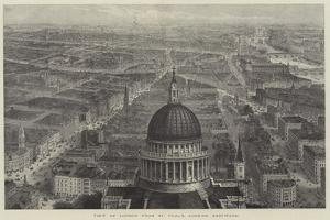 View of London from St Paul's, Looking Eastward by Thomas Sulman