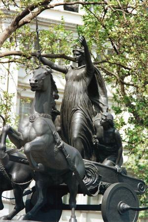 Statue of Boudicca and Her Daughters in a Chariot, Thames Embankment, London, 19th Century