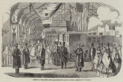 Opening of the South Devon and Tavistock Railway