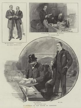 A Division in the House of Commons by Thomas Walter Wilson