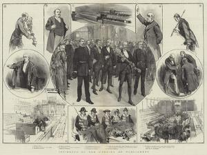 Incidents of the Opening of Parliament by Thomas Walter Wilson