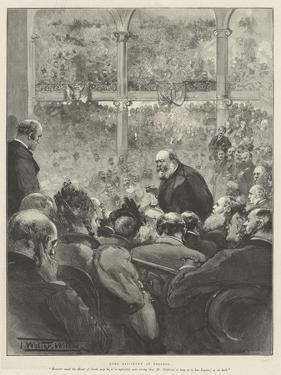 Lord Salisbury at Preston by Thomas Walter Wilson