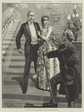 Scene from The Dancing Girl, at the Haymarket Theatre by Thomas Walter Wilson
