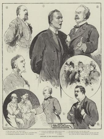 Sketches at the Brighton Election by Thomas Walter Wilson