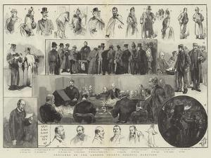 Sketches of the London County Council Election by Thomas Walter Wilson