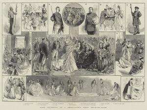 Some Incidents of a Debutante's First Drawing-Room by Thomas Walter Wilson