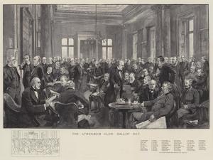The Athenaeum Club, Ballot Day by Thomas Walter Wilson