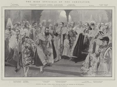 The High Officials of the Coronation by Thomas Walter Wilson