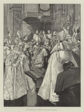 The Investiture of Archbishop Vaughan with the Pallium by Thomas Walter Wilson
