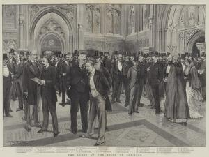 The Lobby of the House of Commons by Thomas Walter Wilson