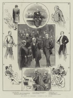 The Opening of Parliament, Incidents in the Commons by Thomas Walter Wilson